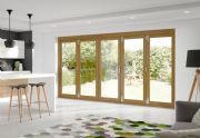 XL Joinery External Pre-Finished Oak La Porte Vista Mod 2 [5 Door] 3916 x 2098mm x 44mm